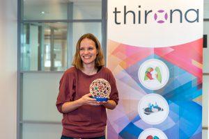 Regionale samenwerking Thirona CWZ; Eva van Rikxoort ontvang de Parel-award voor Thirona